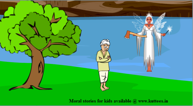 Lesson (117) An Honest Wood cutter: Imandar Gas Karoiya